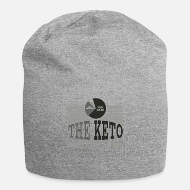 Spreuken Keto Diet Diet Ketogenic Diet Food Gift - Jersey-Beanie