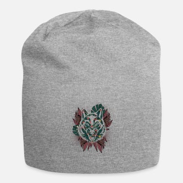 Grigio Lupo hawaiano - Beanie in jersey