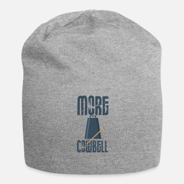 Cowbell Cowbell Lover More Cowbell Music Lover Pun - Beanie