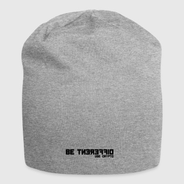 Be Different USE CRYPTO - Diskretes simples Shirt - Jersey-Beanie