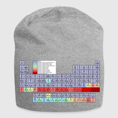 Shop periodic table caps hats online spreadshirt periodic table jersey beanie urtaz Gallery