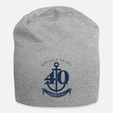 Vintage 40th Birthday: Vintage Vessel - 40 - The Anchor - Beanie