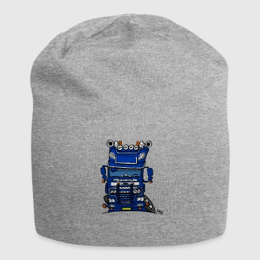 0613 daf fx on the road blauw - Jersey-Beanie