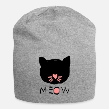 Mode Meow - Jersey-Beanie