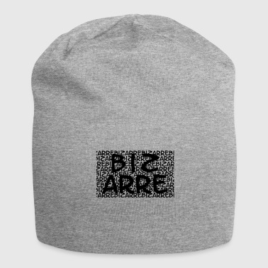 Cool Bizarre Text-Print Design - Jersey Beanie