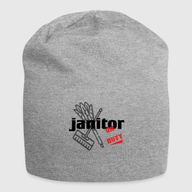 Janitor - Janitor - Cleaning and Repairing. - Jersey Beanie