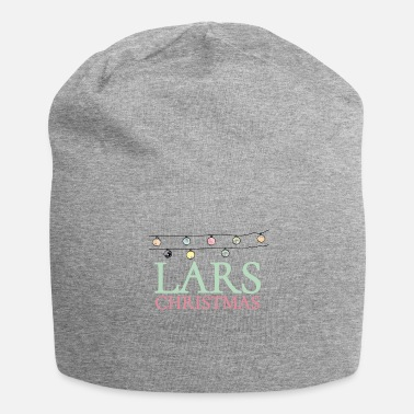 Lars Shirt for people who are called Lars. Lars Christmas - Jersey Beanie