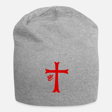 Red Cross Red Dragon & Cross - Jersey Beanie
