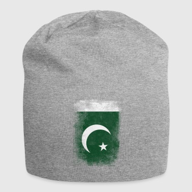 Pakistan-Flagge Proud Pakistan Vintage Distressed Sh - Jersey-Beanie