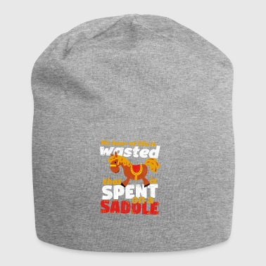 Spend on a Saddle - Jersey Beanie