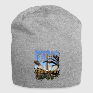 Holiday Island Maspalomas island Canary Islands holiday vacations gift - Jersey Beanie