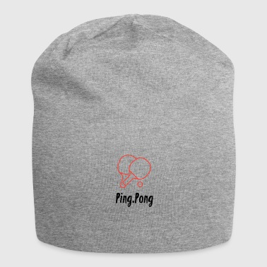 Ping Pong - Jersey Beanie