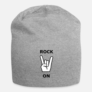 Rock Skirt Rock On - Metal & Rock - Beanie in jersey