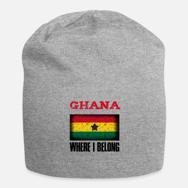 Patriot Ghana dove appartengo | Idea regalo Accra Kumasi - Beanie in jersey