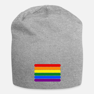 Strip Rainbow Stripes - Bonnet en jersey