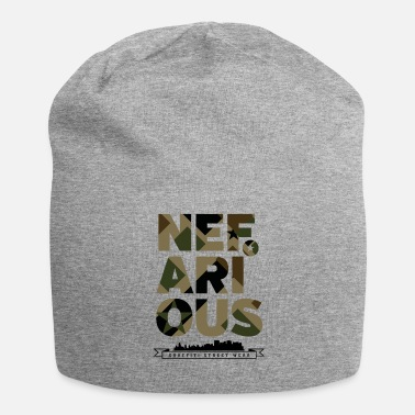 Wear Nefarious street wear militare - Beanie in jersey