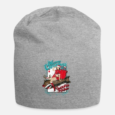 Sexy NORTH POLE AIRLINES - Kerstmis pin-up bom - Jersey-Beanie