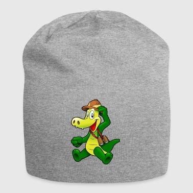 Emile the adventurer alligator - Jersey Beanie