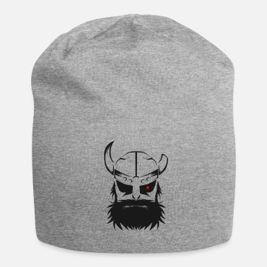 Beard Viking eye helmet beard Odin Thor warrior nordic - Beanie