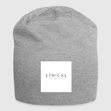 Ethical Ethical is the new Black - Jersey Beanie