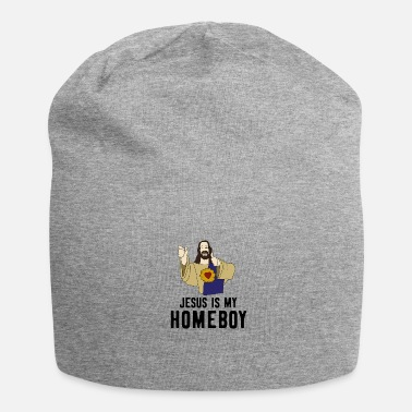 Cool Jesus Homeboy Christian faith god cool grappig - Jersey-Beanie