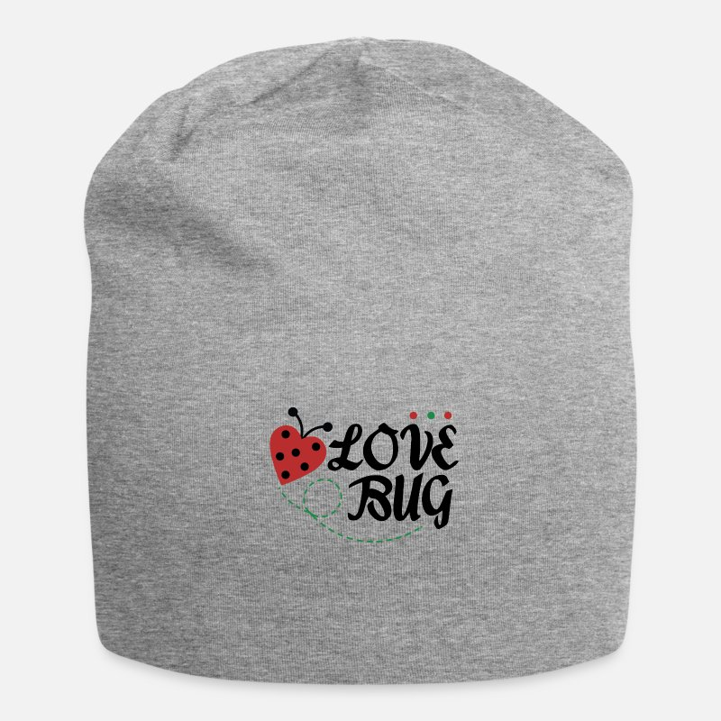 Love Caps & Hats - Love Bug - Beanie heather grey