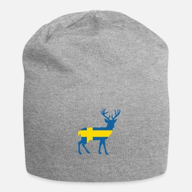 Swedish Moose Sweden flag - Beanie
