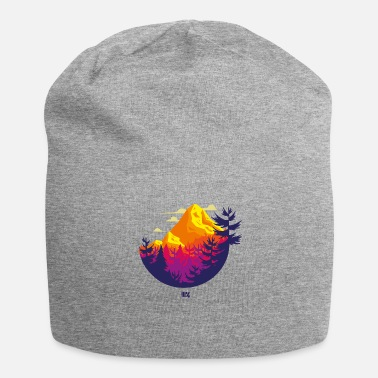 Rocky Mountains Rocky Mountains circle - Jersey Beanie