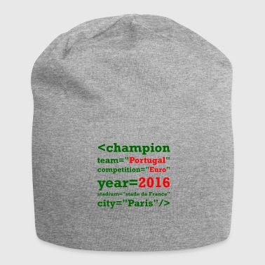 European Champion Portugal European Champion 2016 - Jersey Beanie