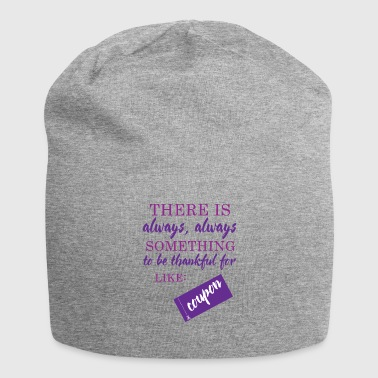 Couponing / Gifts: Er is altijd somthing ... - Jersey-Beanie