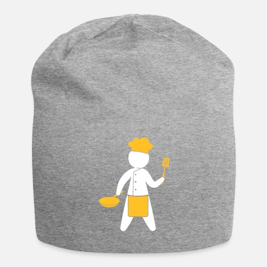 Symbol  Caps & Hats - A Gourmet Chef Cooks In The Kitchen - Beanie heather grey