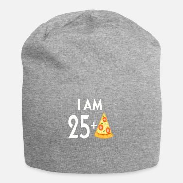Plus Io sono 25 Plus Pizza - Beanie in jersey