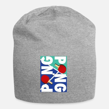 Sport Ping Pong Racket Sports Design - Beanie