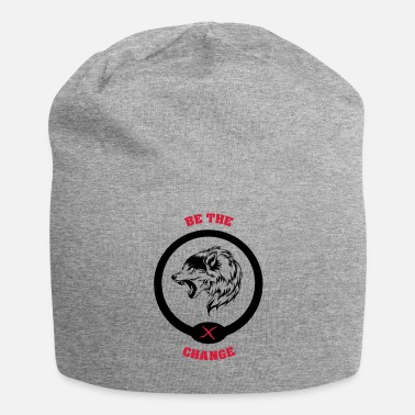 Change BE THE CHANGE - Jersey Beanie