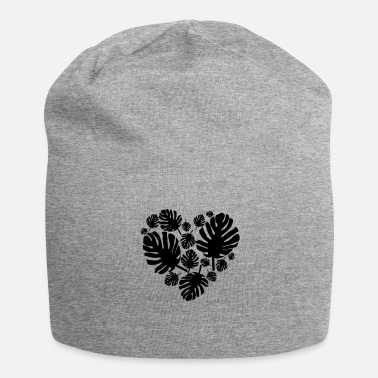 Ecologie Monstera Leaf HEART - Jersey-Beanie