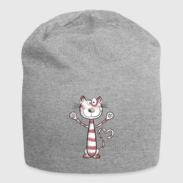 Funny Red Tabby Red Tabby - Jersey Beanie