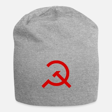 Marxisme Marteau simple et Sickle - Bonnet en jersey