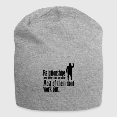 Relationship relationships - Jersey Beanie