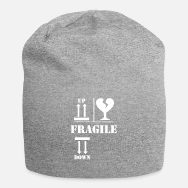Fragile- Handle With Care Fragile wite - Jersey-Beanie