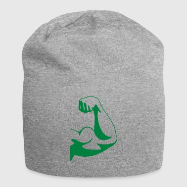 Strong muscle biceps - Jersey Beanie