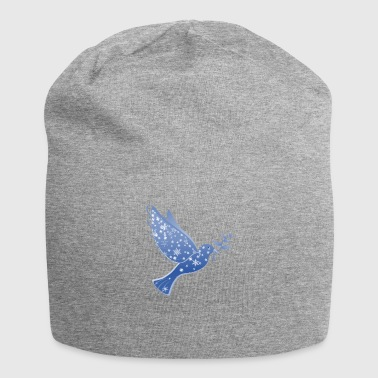 Dove in blue Peace Dove Peace - Jersey Beanie