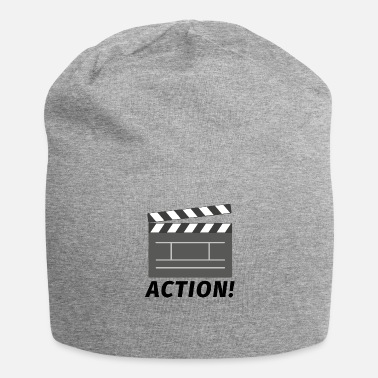 Flap action movie flap - Jersey Beanie