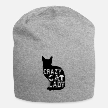 Crazy Cat Lady cat Crazy cat lady - Jersey Beanie