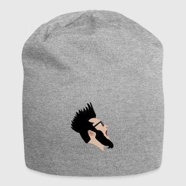 Screaming Rocker - Gorro holgado de tela de jersey