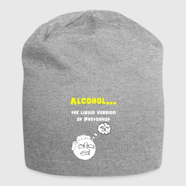 Alcool Photoshop - Bonnet en jersey