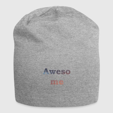 Awesome! - Jersey-Beanie