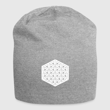 Impossible grid - Jersey Beanie