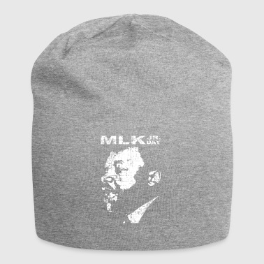 Martin Luther King Jr. Day with MLK's face - Jersey Beanie