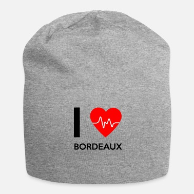 Bordeaux J'aime Bordeaux - I love Bordeaux - Bonnet en jersey