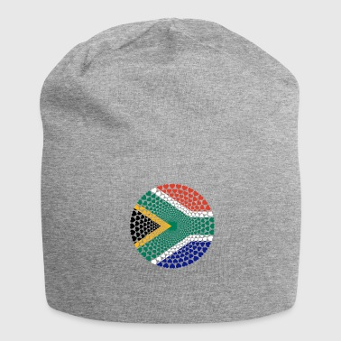 South Africa South Africa Love HERZ Mandala - Jersey Beanie